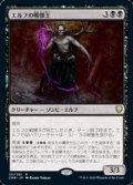 【日本語Foil】エルフの戦慄王/Elvish Dreadlord