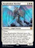 【英語Foil】輝かしい司令官/Resplendent Marshal