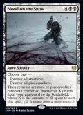 【英語Foil】雪上の血痕/Blood on the Snow