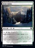 【日本語】森林の地割れ/Woodland Chasm