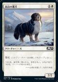 【日本語】高山の番犬/Alpine Watchdog